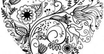 Рисунки для срисовки в стиле дудлинг (35 фото)
