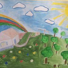 Рисунки карандашом для детей радуга (30 фото)