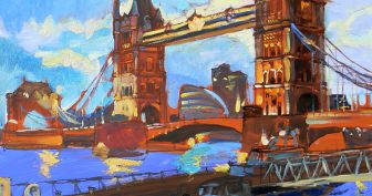 Рисунки Тауэрский мост карандашом (15 фото)