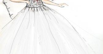 Свадебные рисунки карандашом (19 фото)
