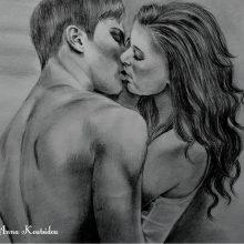 Рисунки карандашом страсть (27 фото)