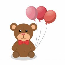 Рисунки для срисовки воздушные шарики (31 фото)