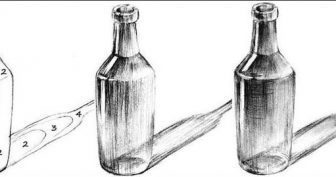 Рисунки карандашом бутылка воды (15 фото)
