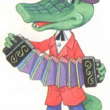 Рисунки крокодила карандашом для детей (29 фото)