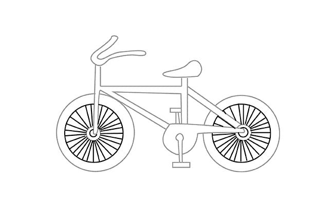 моллюски картинки велосипедиста карандашом поэтапно карту