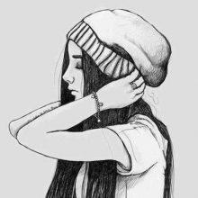 Рисунки для обоев с девочками (31 фото)