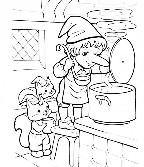 "Рисунки к сказке ""Карлик Нос"" карандашом (22 фото ..."
