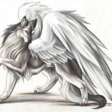 Рисунки карандашом сказочных животных (33 фото)