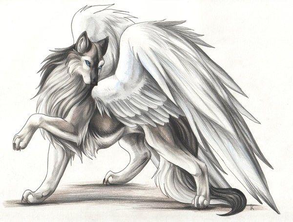 Рисунки карандашом сказочных животных (33 фото ...