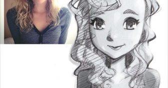Рисунки карандашом мультяшный стиль (25 фото)