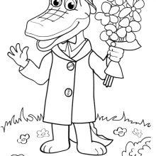 Рисунки Чебурашки и Крокодила Гены карандашом (24 фото)