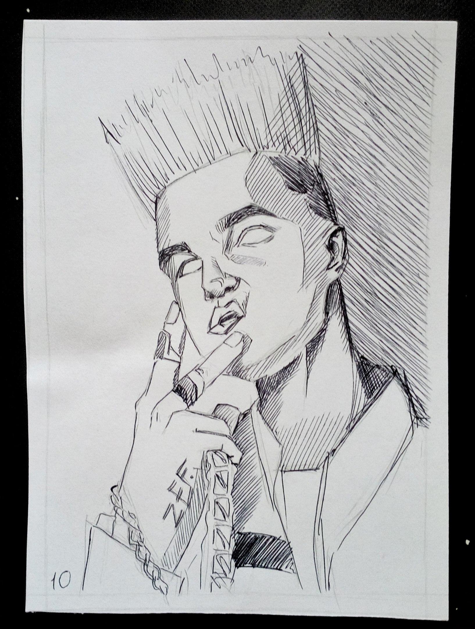 рисунки певцов карандашом довоенные годы завод