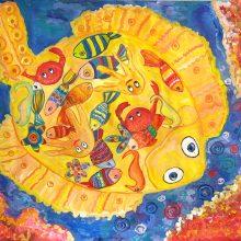 Рисунки для срисовки подводный мир (29 фото)