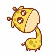 Рисунки для срисовки жирафы (24 фото)