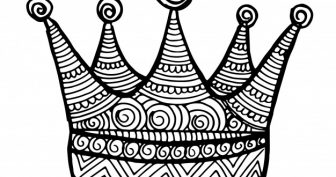 Рисунки короны карандашом для срисовки (27 фото)