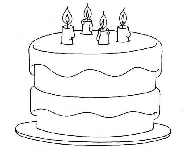 Рисунки тортиков для срисовки (28 фото) 🔥 Прикольные ...