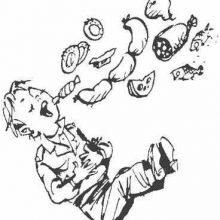 Рисунки карандашом «Что я люблю» Драгунский (15 фото)