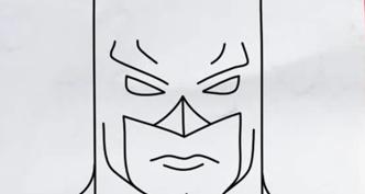 Рисунки Бэтмена для срисовки (20 фото)