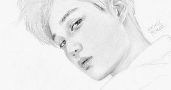 Рисунки для срисовки k-pop (17 фото)