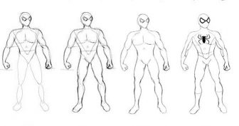 Рисунки карандашом «Человек паук вдали от дома» (31 фото)