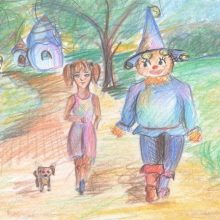 Рисунки карандашом «Страна Оз» (22 фото)