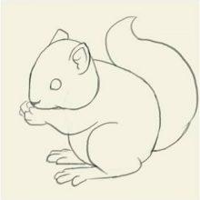 Рисунки карандашом для детей 8 лет (34 фото)
