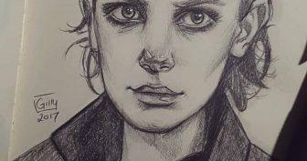 Рисунки для срисовки «Очень странные дела» (15 фото)