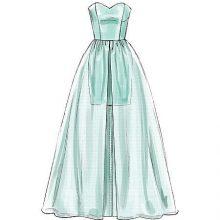 Рисунки для срисовки легкие платья (26 фото)