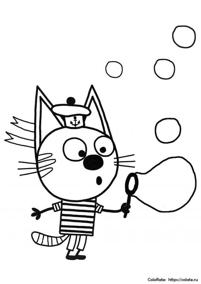 котенок раскраска рисунок | LONG HAIRSTYLES