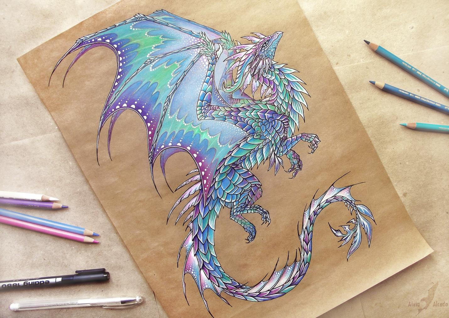 картинки драконов как они рисуют урожайность практически