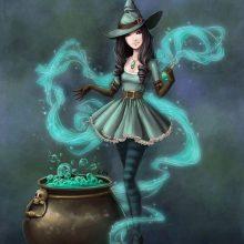 Красивые рисунки ведьмы карандашом (34 фото)