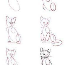 Простые пошаговые рисунки карандашом (35 фото)