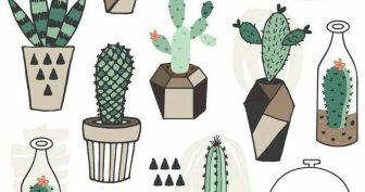 Рисунки растений карандашом для срисовки (65 фото)