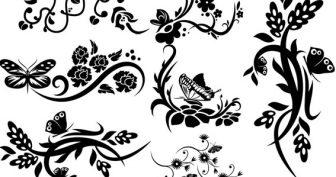 Рисунки карандашом цветы с завитушками (27 фото)