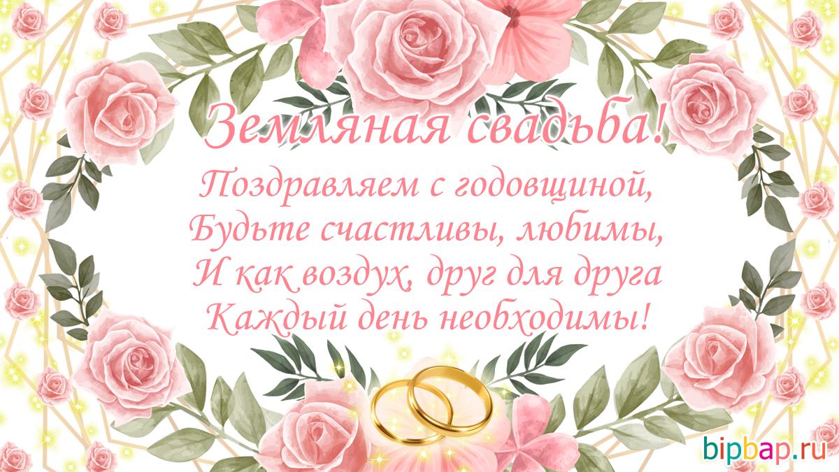 41 день свадьбы поздравления