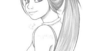 Самые красивые рисунки девочек для срисовки (26 фото)