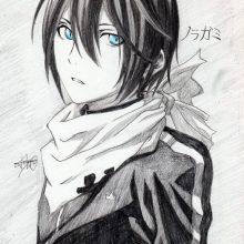 Рисунки аниме цветные для срисовки для начинающих (25 фото)