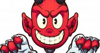 Рисунки для срисовки дьявол (21 фото)