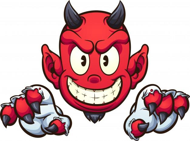 Рисунки для срисовки дьявол (21 фото) 🔥 Прикольные картинки и юмор