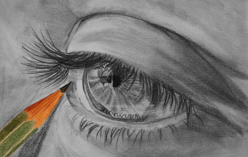 Картинки я рисую карандашом