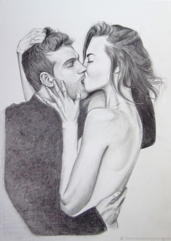 Красивые картинки карандашом влюбленных
