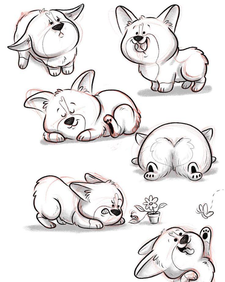 как нарисовать прикольную картинку животного