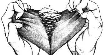 Рисунки карандашом про разбитую любовь (56 фото)