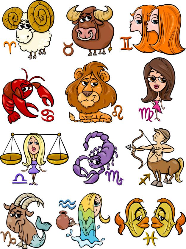 Знаки зодиака по месяцам картинки девушки