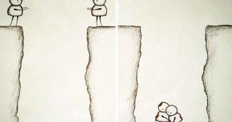 Рисунки карандашом на тему не взаимная любовь (18 фото)