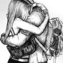 Рисунок карандашом солдат с девушкой (15 фото)