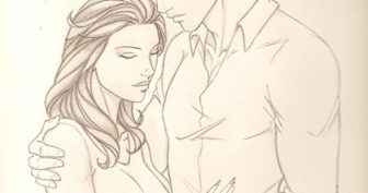 Рисунки карандашом мальчик и девочка (25 фото)