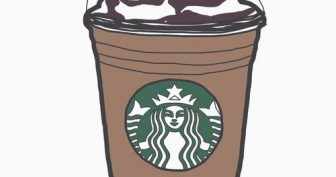 Рисунки для срисовки кофе (31 фото)