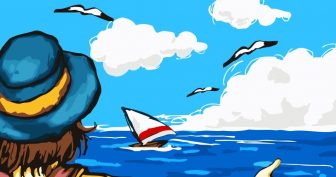 Рисунки море карандашом для срисовки (55 фото)