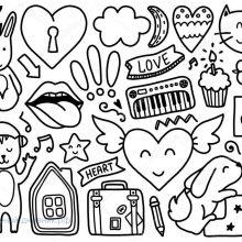 Рисунки для срисовки для ЛД (31 фото)